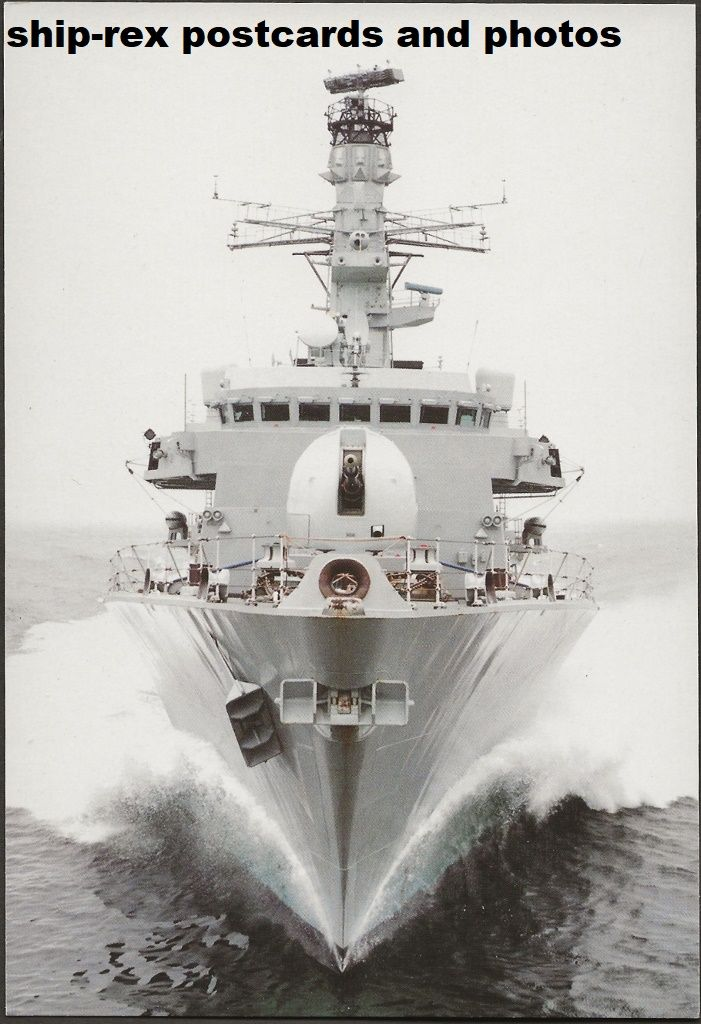 ARGYLL (1991, Royal Navy) postcard