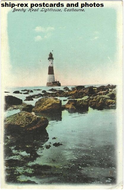 Beachy Head Lighthouse (Sussex) postcard (t)