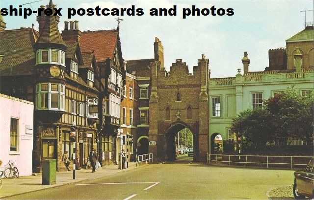 Beverley (Yorkshire) The North Bar, postcard