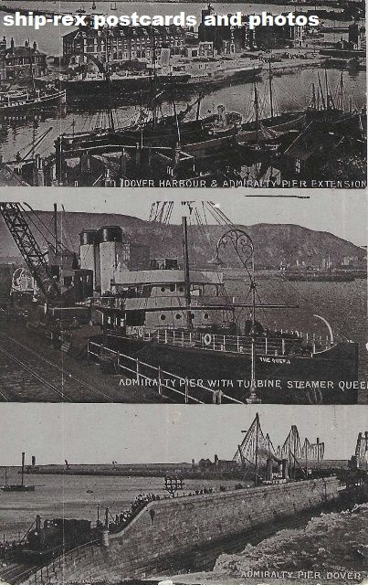 Dover, Kent, multi-view postcard