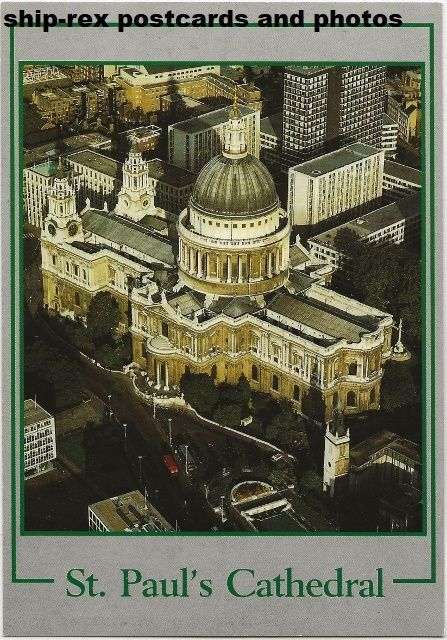 St Paul's Cathedral, London, postcard (b)